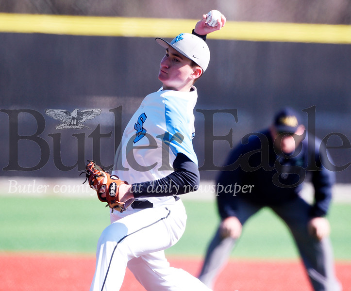 Seneca Valley pitcher Jon McCullough