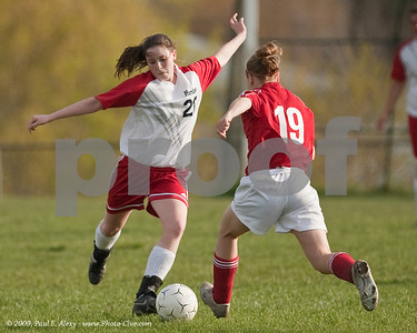 Girls' Soccer-HCS v. Prairie School