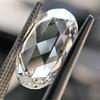 3.60ct Oval Rose Cut Diamond GIA I VS 1