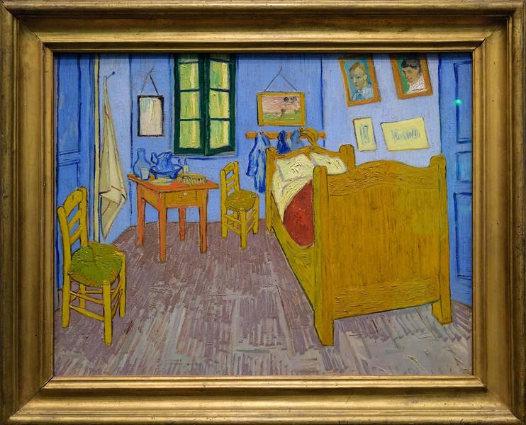 Vincent van Gogh, Bedroom in Arles, third version, September 1889