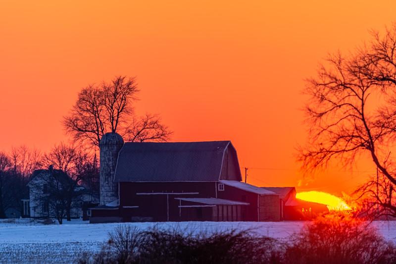 sunset over the Webber's barn 2-16-20-20.jpg