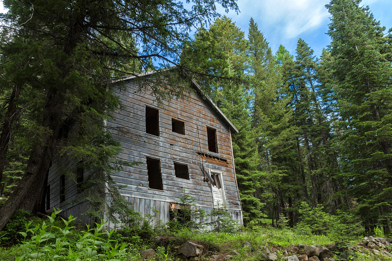 Abandoned East of the Cascades