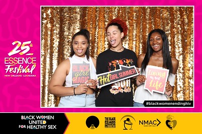 2019.07.06 Black Women United for Healthy Sex at Essence Fest Day 2