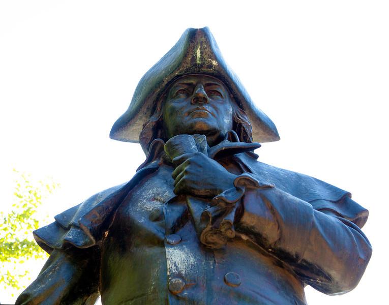 Statue of Robert Morris, financier of the American Revolution