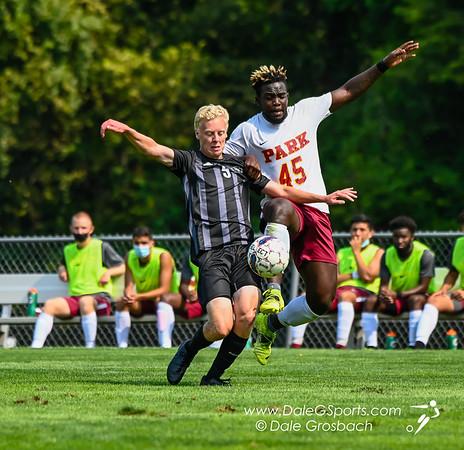 Park Univ. Men's Soccer vs. Ottawa Univ. 2021