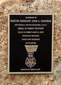 John Chapman Medal of Honor Celebration