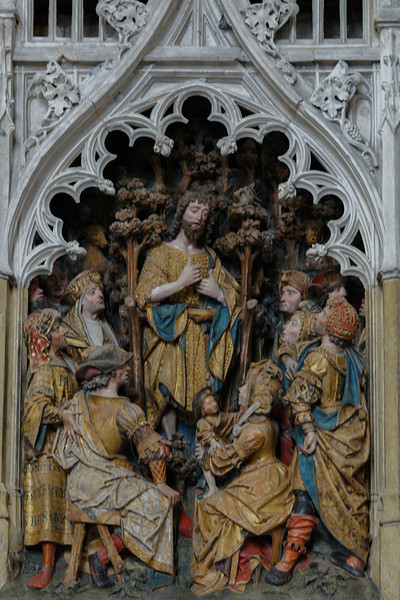Amiens Cathedral Choir Screen