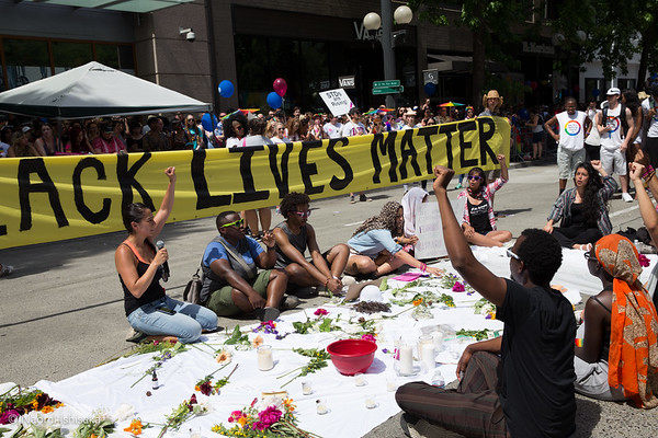 #NoJusticeNoPride #SeattlePride