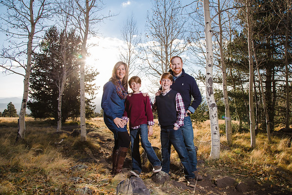 Storjohann Family | Snowbowl Family Photography