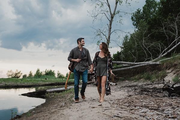Stephanie and Joel
