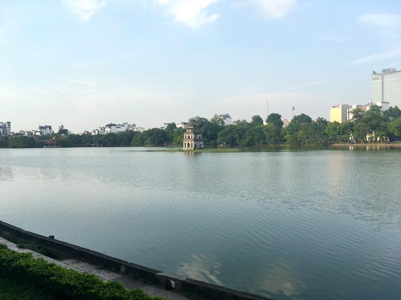 Hoan Kiem Lake - things to do in Hanoi Vietnam