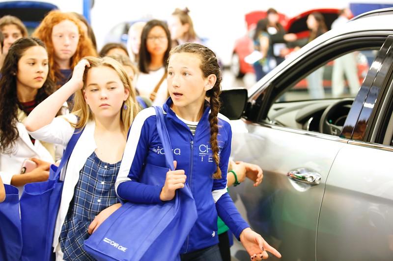 Women at Hyundai