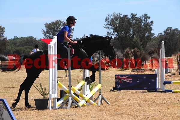 2017 01 22 Oakford Dressage and ShowJumping Day ShowJumping 45cm