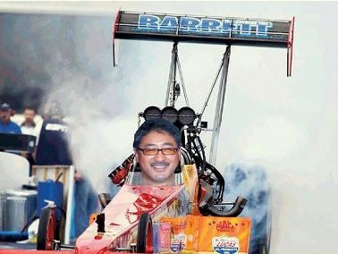 Mike Kojima top fuel