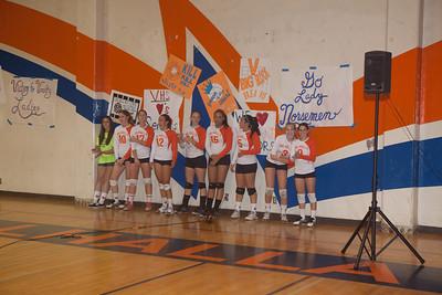 2011: Ladies Volleyball Senior Night