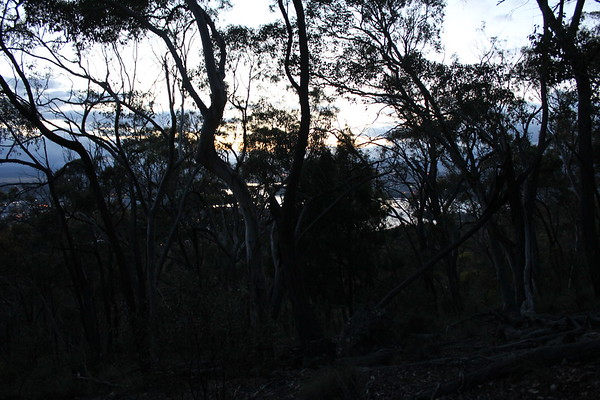 20180103, Black Mountain sunrise