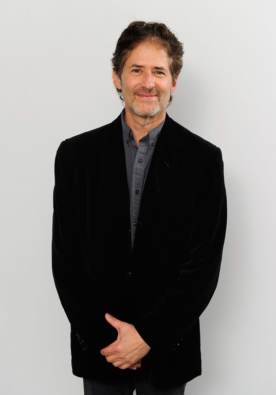 . Composer James Horner poses for a portrait in the portrait studio at Katara Cultural Village during the 2011 Doha Tribeca Film Festival on October 25, 2011 in Doha, Qatar.  (Photo by Andrew H. Walker/Getty Images for Doha Film Institute)