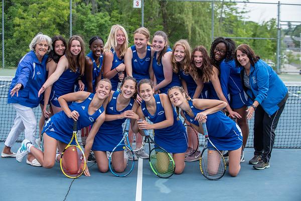 2021 LHS Lady Blue Devils Tennis