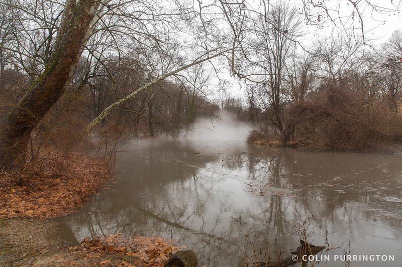 Dam fog