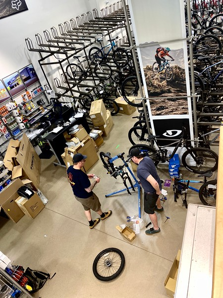 Mikes Bike Build 2020