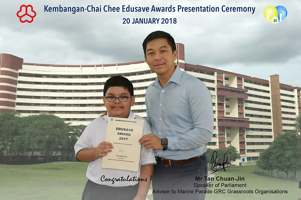 200118 Edusave Award - Ping An Green