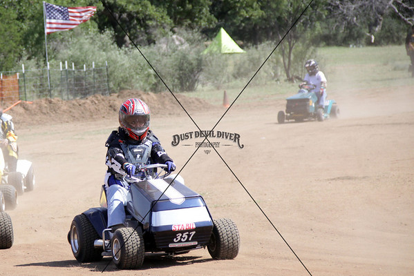 Lawnmower Race at Oxford Camp