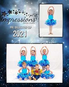 Pre-Ballet/Pre-Tap Wed515 Izabella