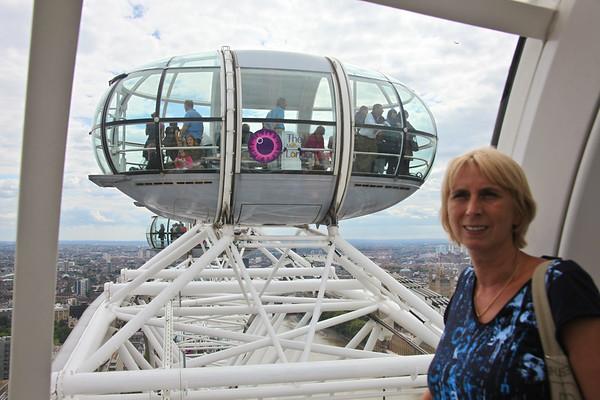 London Eye flight - August, 2010
