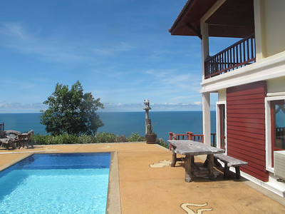 Four Bedroom Sea View Pool Villa kantiang Bay