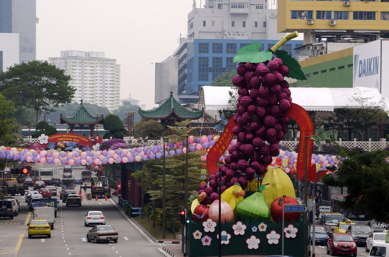 Mid-Autumn Celebration - Chinatown, Singapore