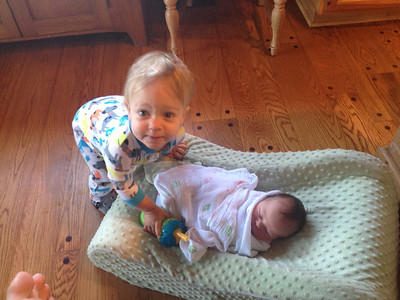 Marshall and Brielle