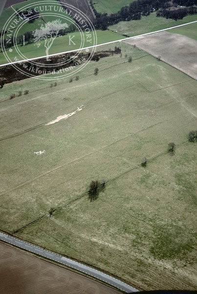 Farmland between Torups Gård and Mölleån - with prehistoric remains (2 April, 1989). | LH.0419