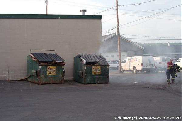 Dumpster, Longo's Bakery, Hazleton, 6/29/08