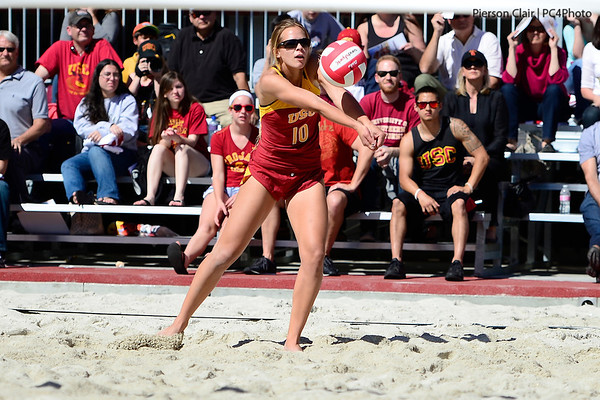 USC Women's Sand Volleyball v LMU 2013