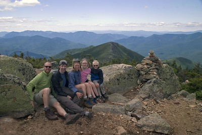 Backpacking in the White Mts.--7/4/05