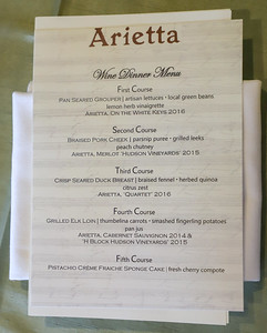 Arietta Wine Dinner July 11, 2019 - Rachel Cook Photography