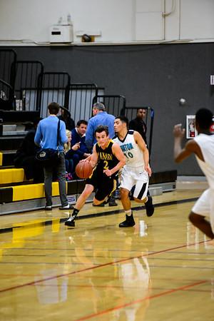 161208 GHS Men's Varsity Basketball VS Burton