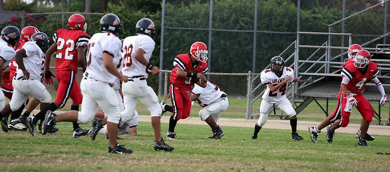 GGHS JV Football (10-30-08)