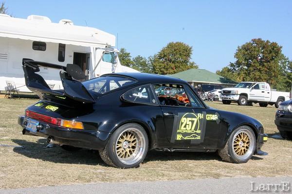 Porsche club at Kershaw