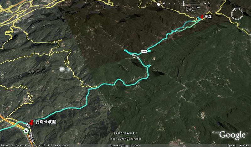 106縣道山區路段