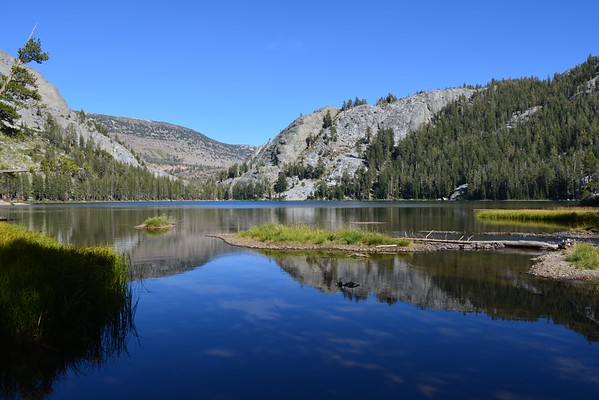 Day One  of my Mammoth Lakes to Tuolumne Meadows Hike