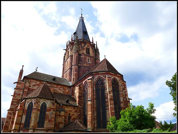 Wissembourg:  Abbatiale Saint-Pierre-et-Saint-Paul