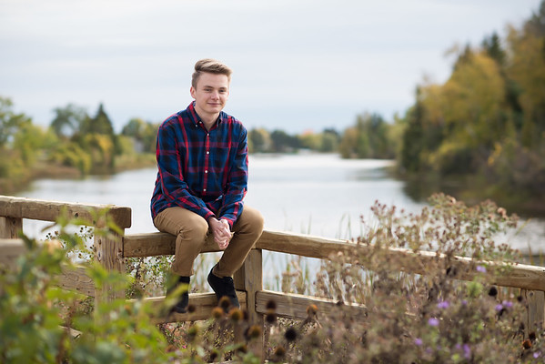 Hunter Senior Portraits