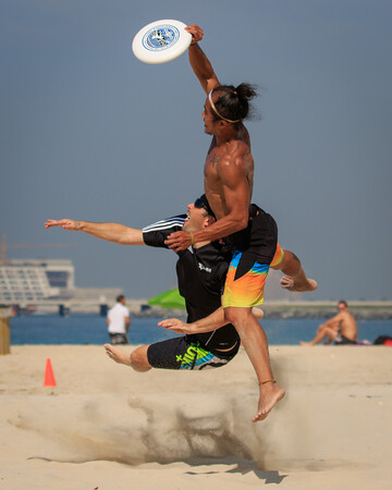 UAE Mixed Beach Ulti practise & scrimmage