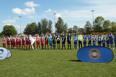 WILTSHIRE COUNTY UNDER 13 CUP FINAL SWINDON SUPERMARINE U13  v  ROBINS FC U13