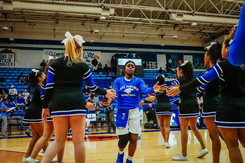 Lady Panthers Varsity vs  Weatherford 01-12-16-3