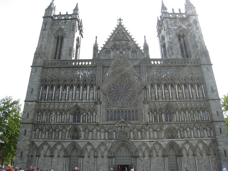 Nidaros Cathedral at Trondheim