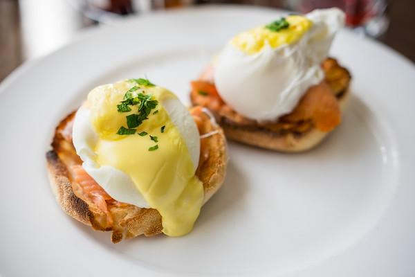 Delicious Eggs Benedict at Sea Salt, Crowne Plaza, Terrigal, NSW