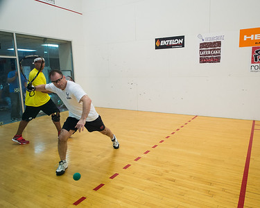 Men's Singles Open Quarters Mark Fuhrmann over Nick Taylor