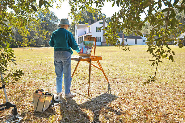Hofwyl-Broadfield Plantation Plein Air Events